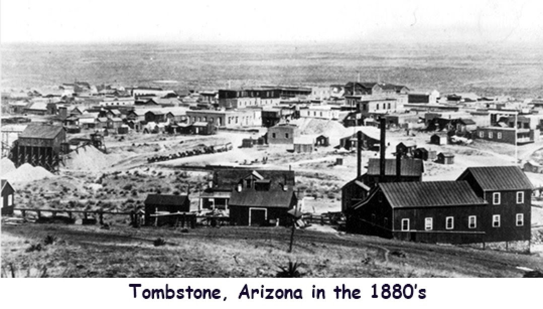 TOMBSTONE, ARIZONA TERRITORY