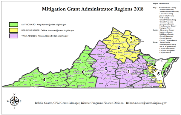 Stoolbend Virginia Map.Hazard Mitigation Grant Program Funds Available To The Commonwealth