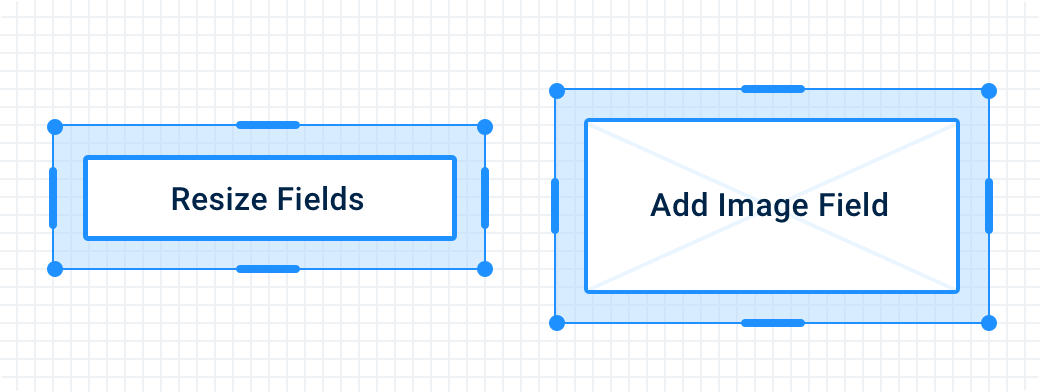 Fluix Form Builder, New type of fields