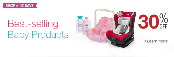 30% off best-selling Baby Products