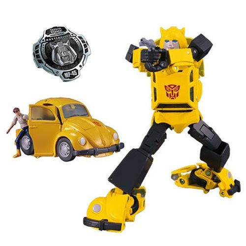 Image of Transformers Masterpiece Edition MP-45 Bumblebee and Spike 2.0