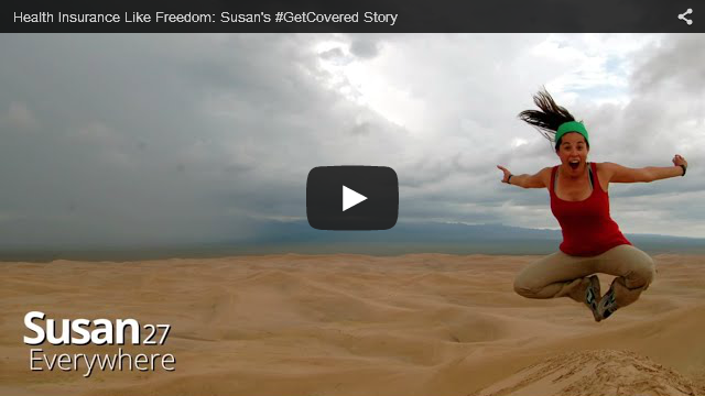 YouTube Embedded Video: Susan's #GetCovered Story