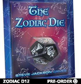 The Zodiac Die (D12)