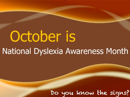 October is National Dyslexia Month