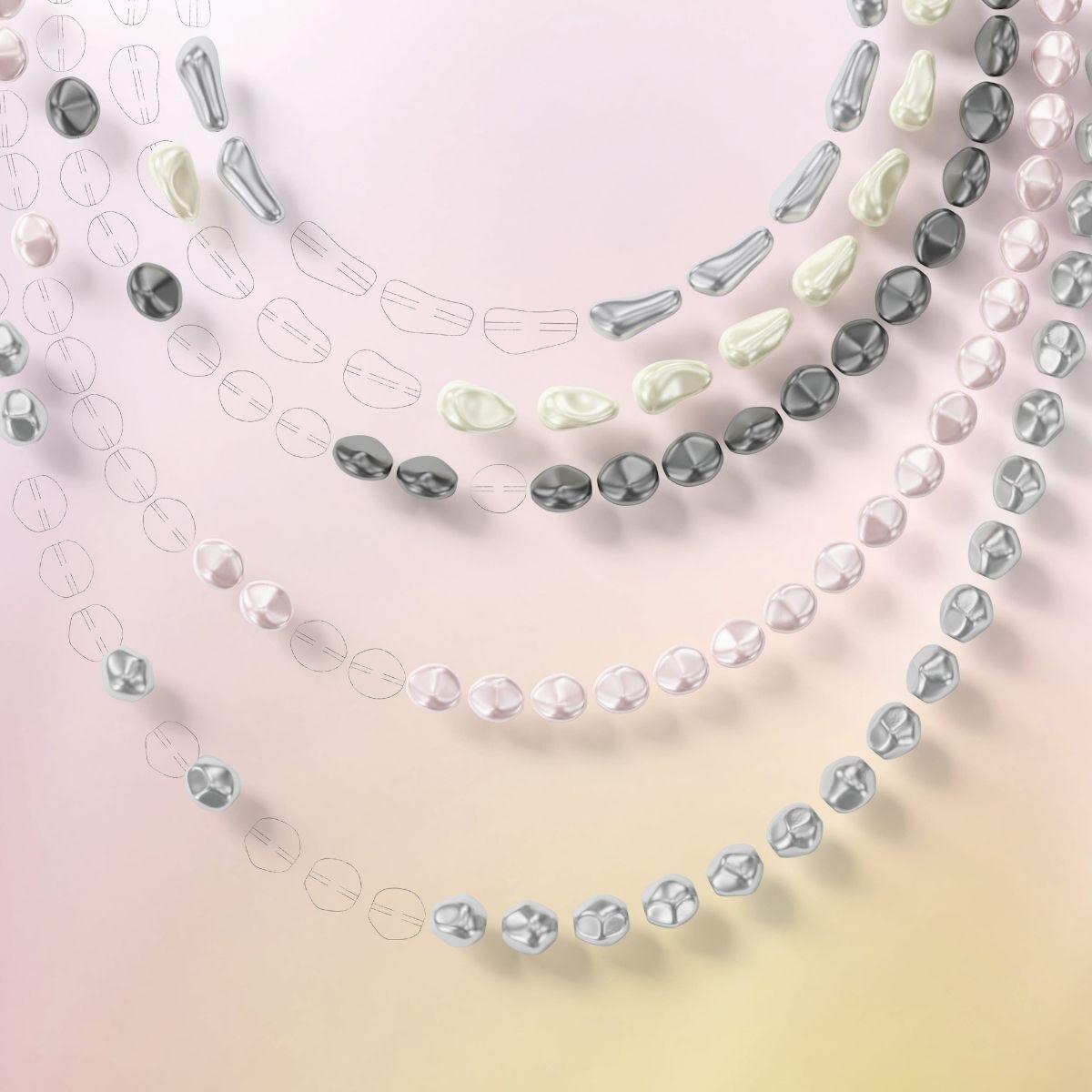 Baroque Crystal Pearls
