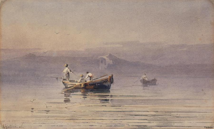 tilestwra.com | Η Θάλασσα στον καμβά των Ελλήνων ζωγράφων