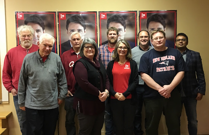 PSM Federal Liberal Association executive - November 2017