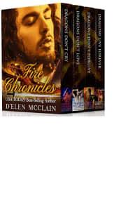 Fire Chronicles Box Set: Books 1–4 by D'Elen McClain
