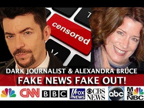 Fake News Fake Out! Mainstream Media Attacks! via Dark Journalist (Video)