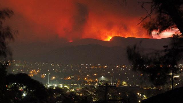 Bushfires in Canberra, January 28