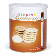 Vanilla Suage Cookie Mix