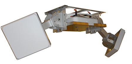 """Two-Antenna Co-Locating Mount with Two 10"""" Strong Arm Mounts"""