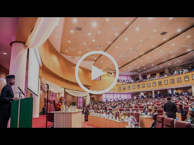 Prof. Yemi Osinbajo at the Inaugural Foreign Service Public Lecture (Full Remarks)