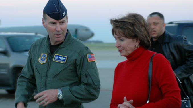 Nancy Pelosi allowed family to use Air Force One, against normal rules