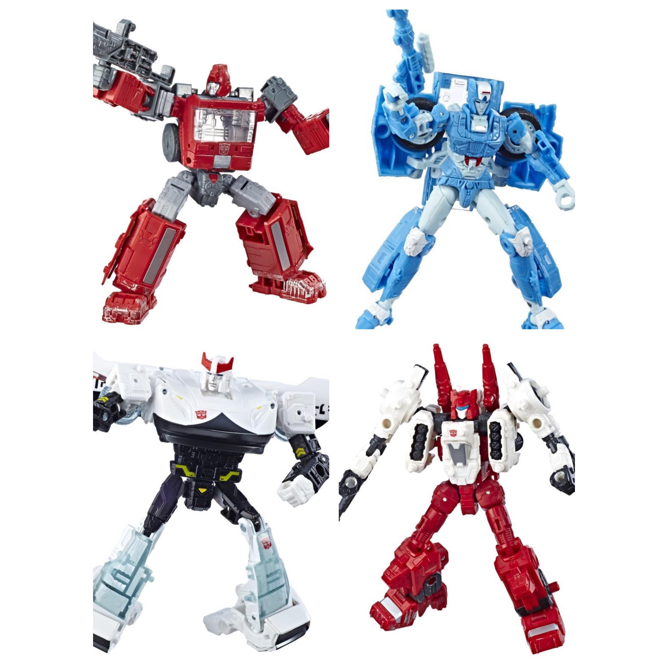 Image of Transformers War for Cybertron: Siege Deluxe Wave 2 - Set of 4