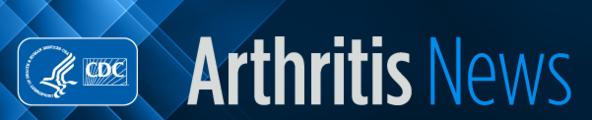 Arthritis News Header