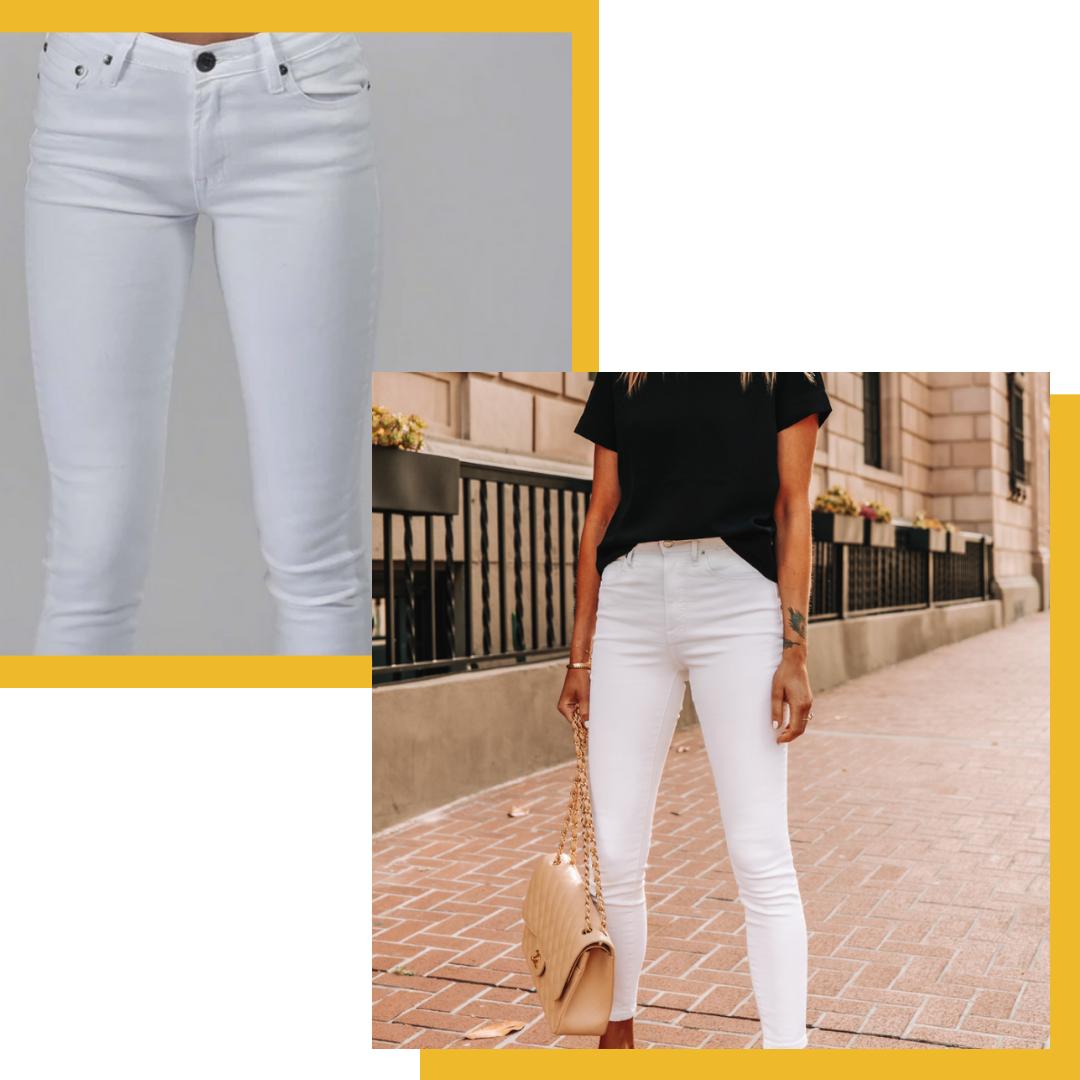 Carousel Essentials Twiggy Jean in White