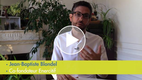 JB Blondel, cofondateur d'EnerCit'IF à Paris, présente les coopératives citoyennes d'EnR