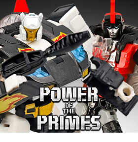 TRANSFORMERS POWER OF THE PRIMES DELUXE RICOCHET & SWOOP EXCLUSIVES