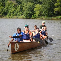 OAK Go Week Canoeing