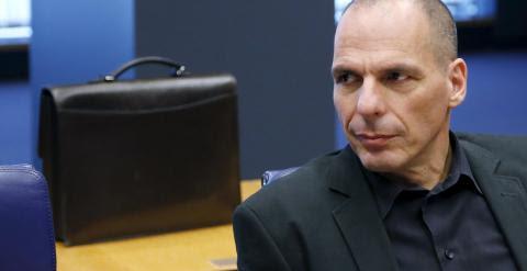 El ministro de Finanzas griego, Yannis Varoufakis, antes de la reunión del Eurogrupo. REUTERS/Francois Lenoir