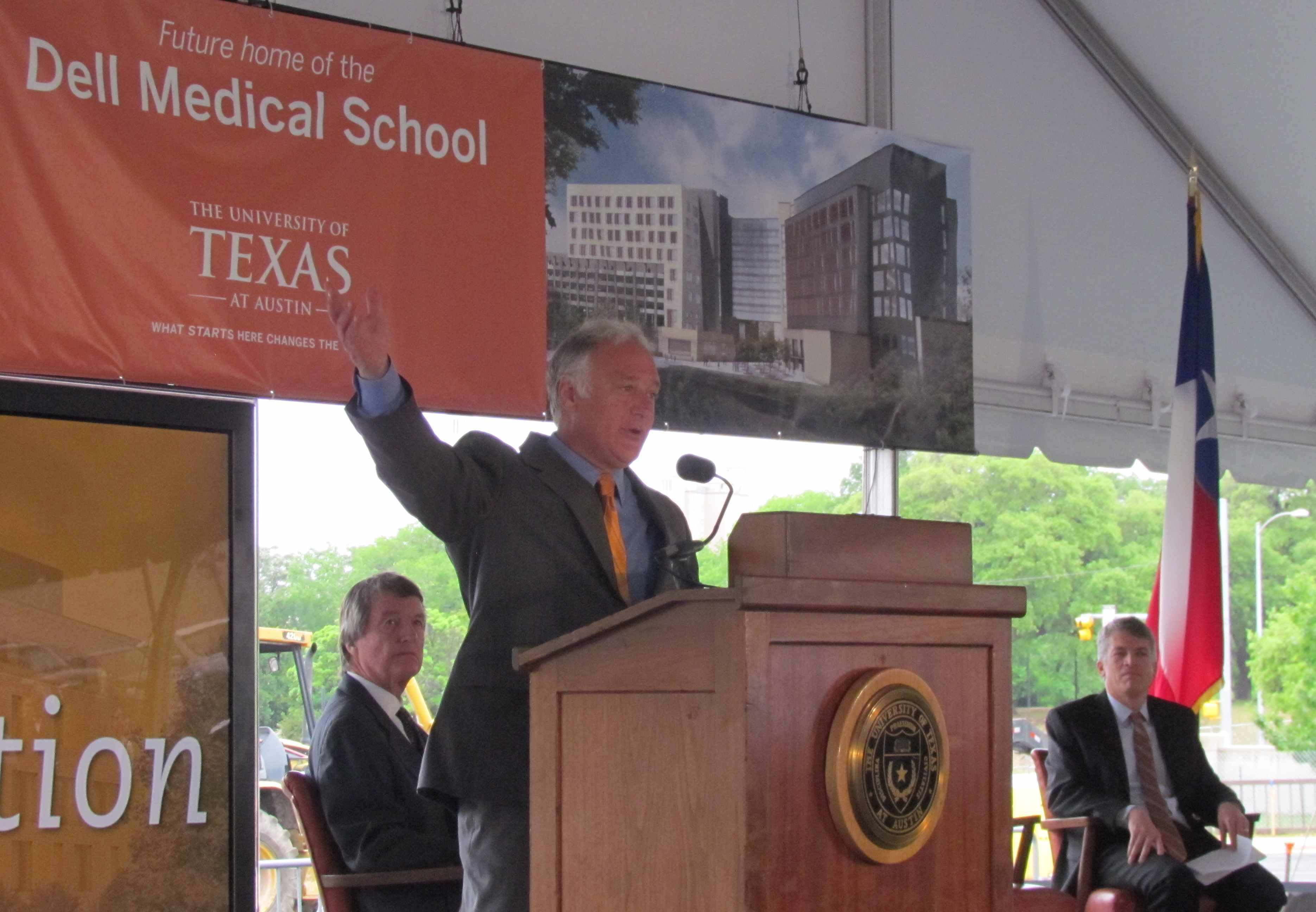 Sen. Watson Speaking at UT Medical School Launch