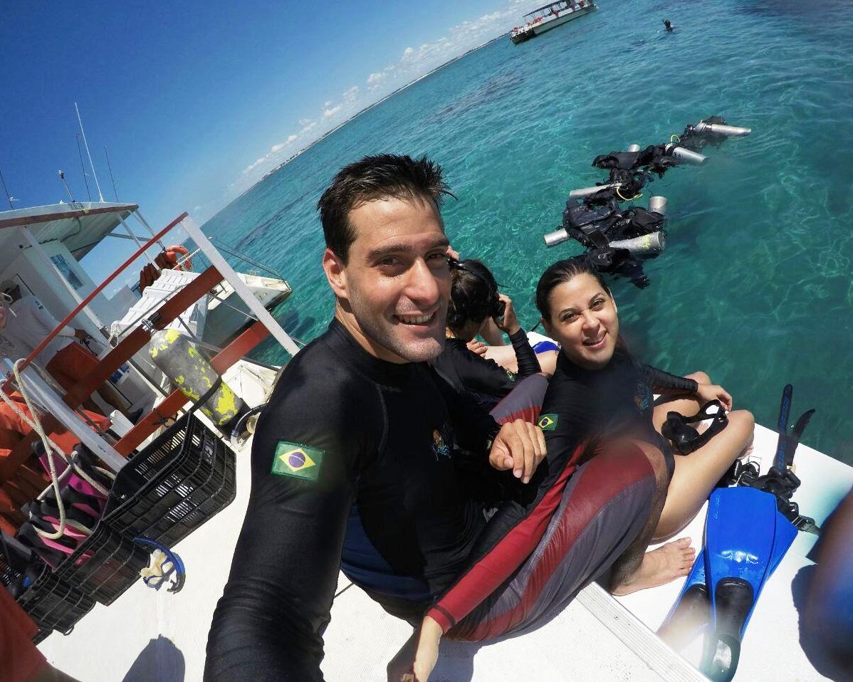 mergulho cilindro natal rio grande do norte brasil maracajau parrachos corais