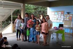 Itaú Cultural doa acervo literário para Escola ?Teresinha Vieira de Camargo Barros?