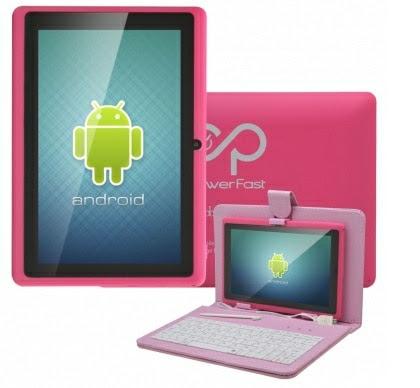 Tablets coloridos Powerfast
