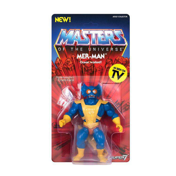 Image of Masters of the Universe Vintage Wave 3 - Mer-Man - SEPTEMBER 2019