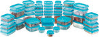 Polyset Daisy Plain Container - 50 Pcs Set