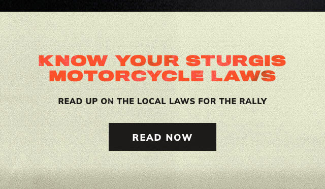 Know your Sturgis Motorcycle laws