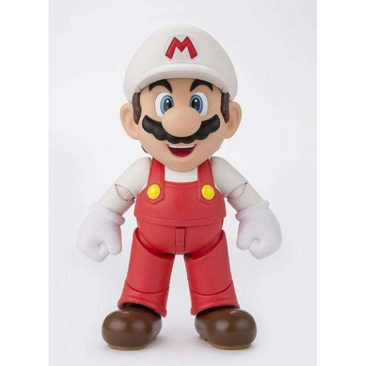 Image of Super Mario Brothers S.H.Figuarts Fire Mario