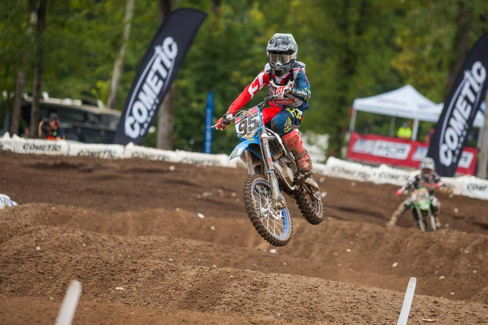 Ty Masterpool topped the charts in the Supermini 2 (13-16) class.