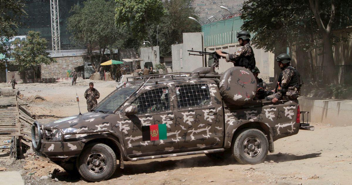 Taliban truck