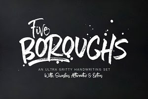 Five Boroughs Fonts • SUPER SALE!