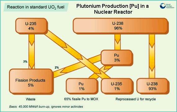Plutonium production