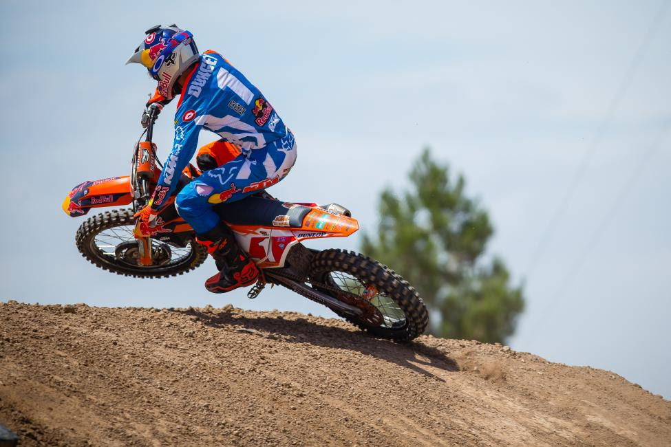 Dungey already sits second on the all-time 450 Class wins and podiums lists. He'll chase a fourth Pro Motocross title this summer.Photo Courtesy: Jeff Kardas