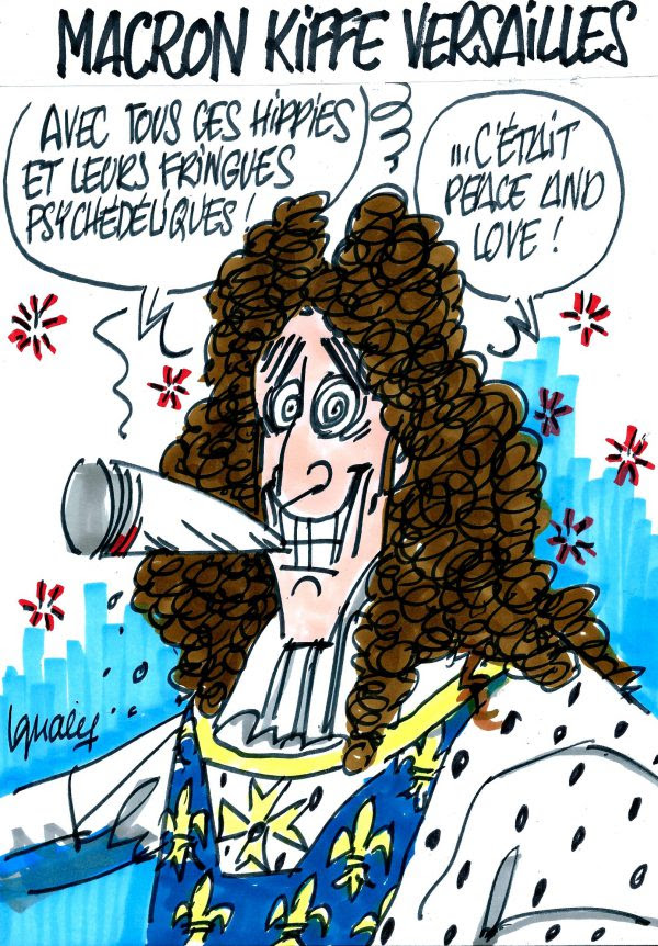 Ignace - Macron kiffe Versailles