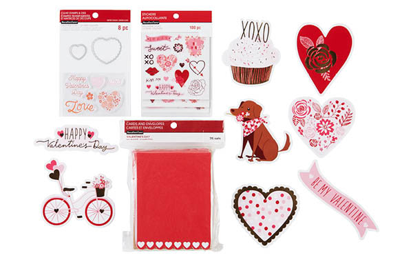 ALL Valentine's Day Card-Making Supplies