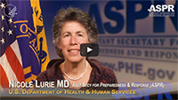 HHS ASPR Dr. Nicole Lurie - video (3:25)