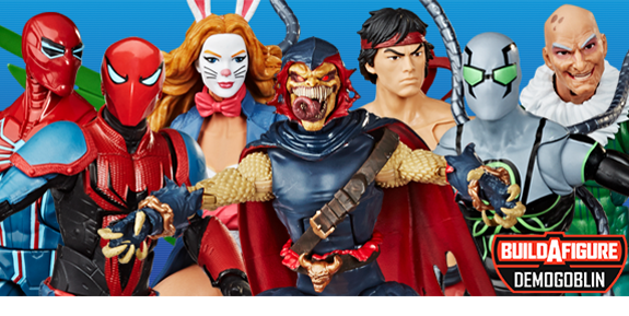 Spider-Man Marvel Legends Wave 11 (Demogoblin BAF)