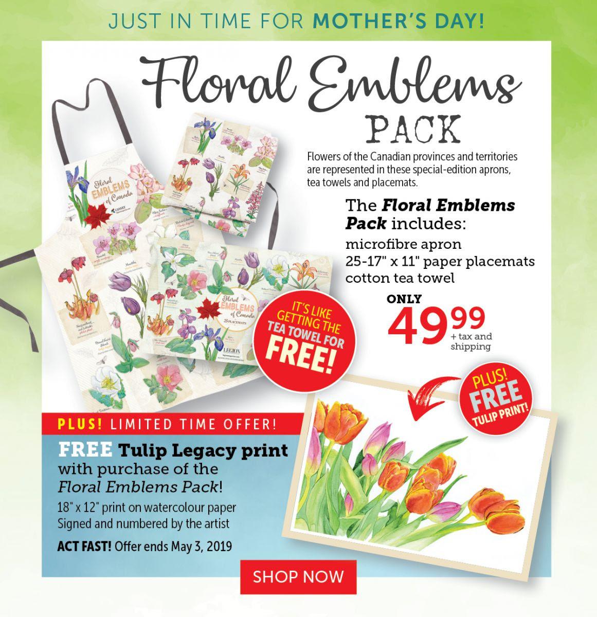 Floral Emblems Pack + FREE TULIP LEGACY