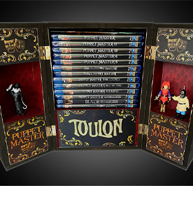 Puppet Master The Ultimate Blu-Ray Collectable Trunk Autographed Limited Edition (13 Disc Collection)