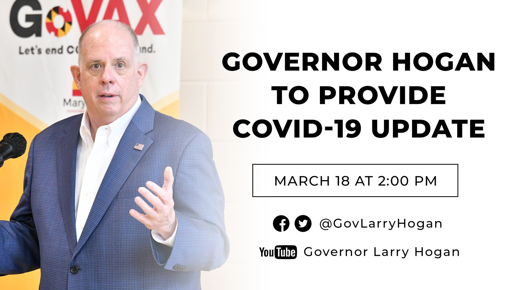 gov hogan to provide covid update