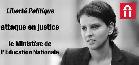Liberté Politique attaque Belkacem en justice !