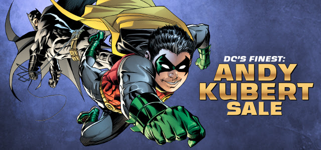 DCs Finest Andy Kubert Digital Sale