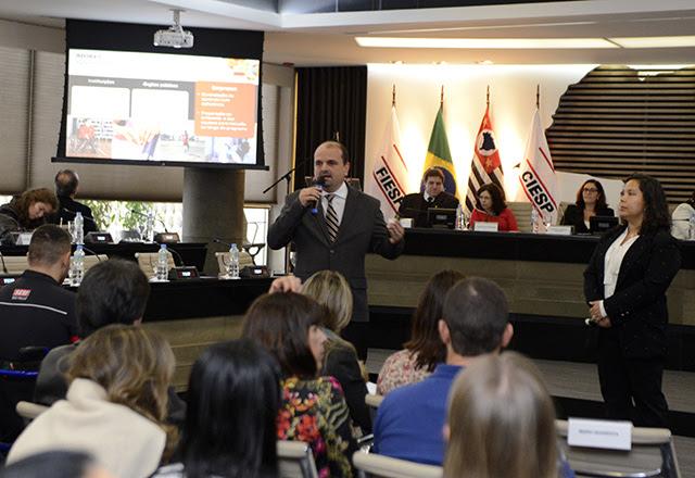 Quarenta e Daniela: valores destacados em nome do rendimento dos participantes. Foto: Helcio Nagamine/Fiesp