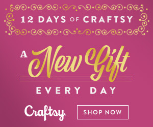 12 Days Of Craftsy - A New Gift Every Day!  (12/1-12/12)