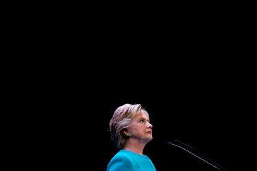 Hillary Clinton campaigning last week in Seattle.